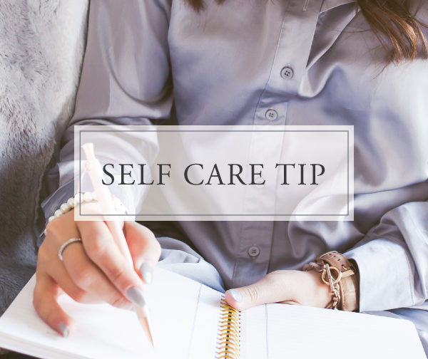 Self Care Tip #21