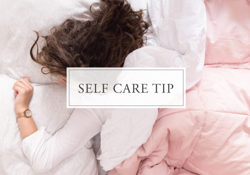 Self Care Tip #29