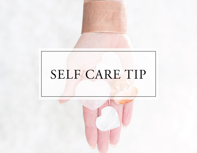 Self Care Tip #33