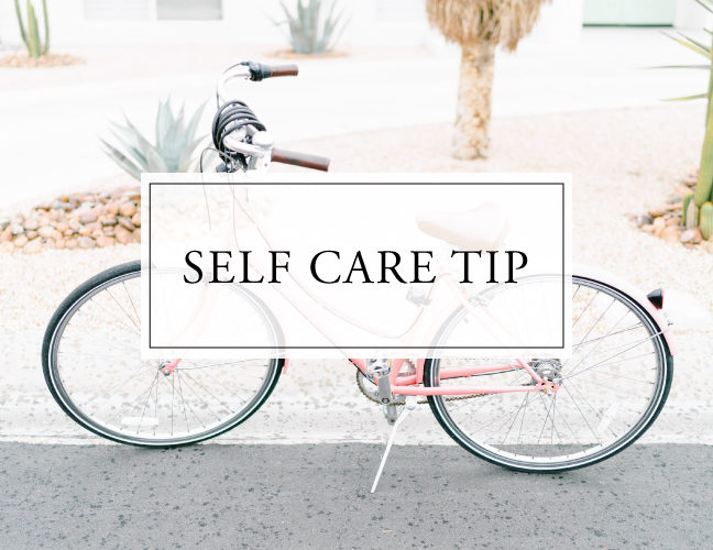 Self Care Tip #37