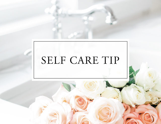 Self Care Tip #39