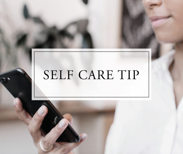 Self Care Tip #43
