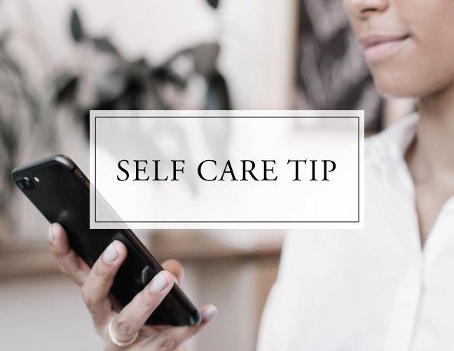 Self Care Tip #43