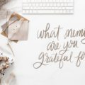 Gratitude journal prompt #3