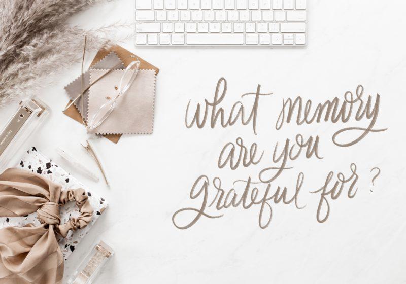 Gratitude journal prompt #3
