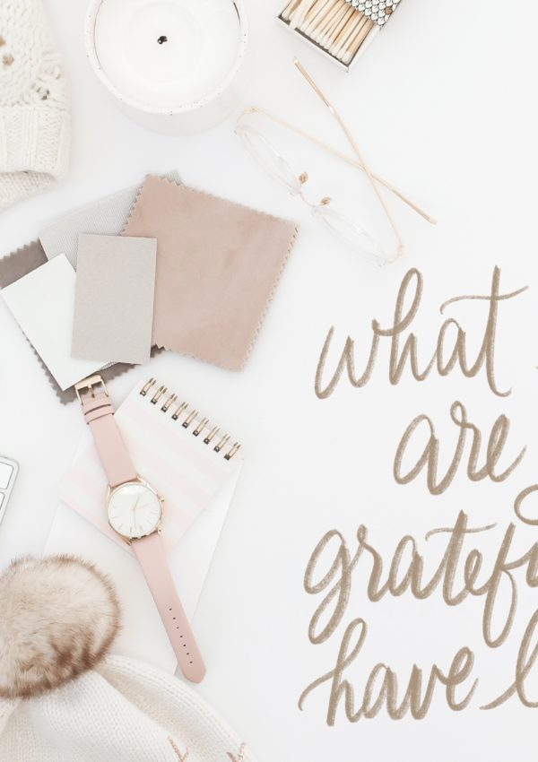 Gratitude Journal Prompt #2-What Lesson are You Grateful for?