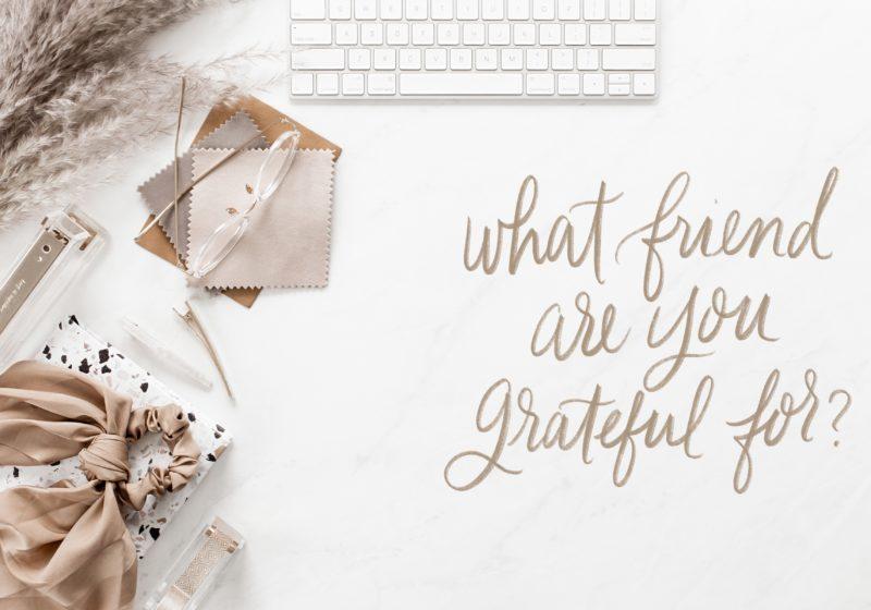 Gratitude Prompt #1