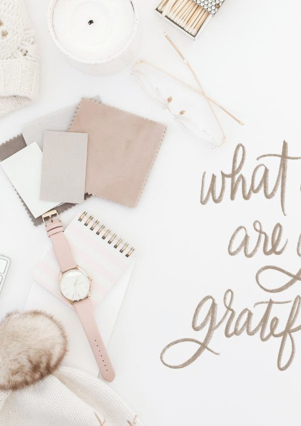 Gratitude Journal Prompt #4 – What Object are You Grateful for?
